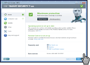 Скриншот ESET Smart Security 1