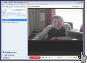 Скриншот Скайп 2